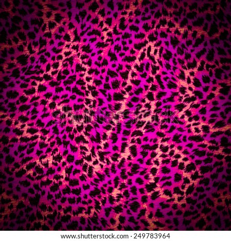 tiger purple fur texture - stock photo