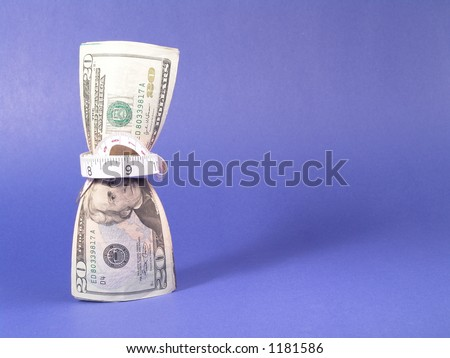 Tighten Budget & Inflation - stock photo