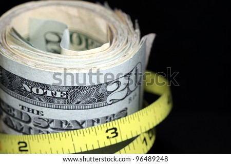 Tighten Budget / Inflation - stock photo
