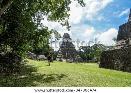Tikal, Guatemala - stock photo