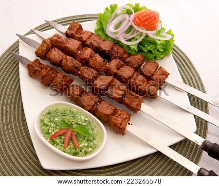 Tikka Boti-5 - stock photo