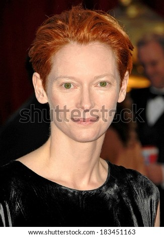 Tilda Swinton at RED CARPET - 80th Annual Academy Awards Oscars Ceremony, The Kodak Theatre, Los Angeles, CA, February 24, 2008