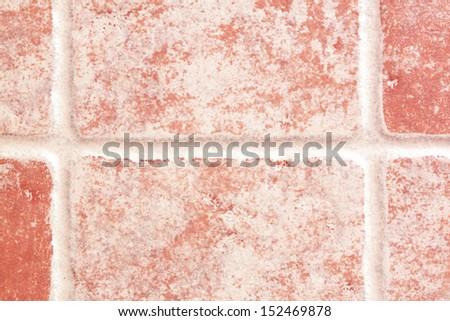 Tile Beige and brown floor tiles wall - stock photo
