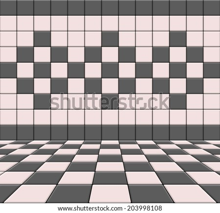 tile interior background