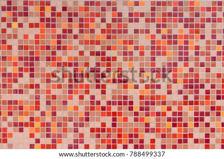 tile mosaic for background