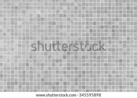 Tile pattern and background, in black and white color  - stock photo