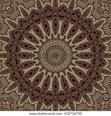 Tile. Pattern from ornamental elements. Can be used for wallpaper, pattern fills, web page background,surface textures.
