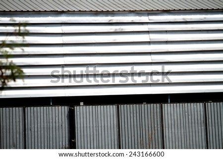 Tile sheet of vent wall - stock photo