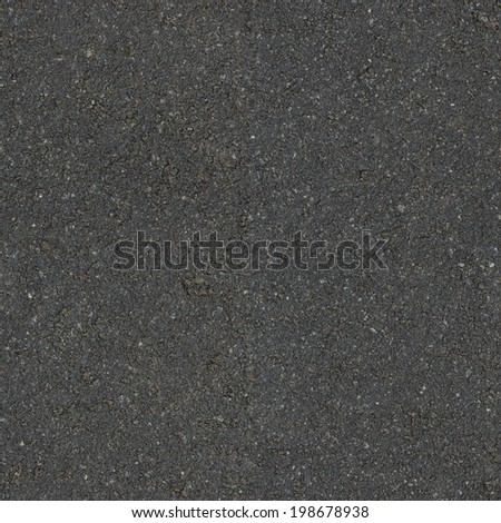 tileable square gray asphalt texture, wet surface - stock photo