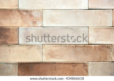 Tiled brick wall,background texture.