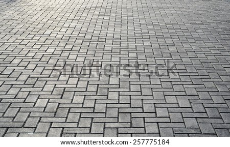 Tiles background with sunlight hotspots - stock photo