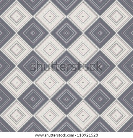 Tiling background with chessboard ornament. - stock photo