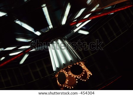 Tilt-a-whirl - stock photo