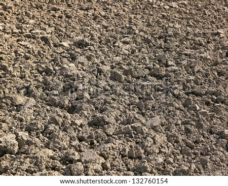 tilth close up - stock photo