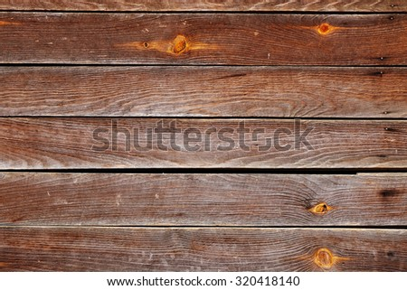 timber brown wood plank texture, timber wall industrial background - stock photo