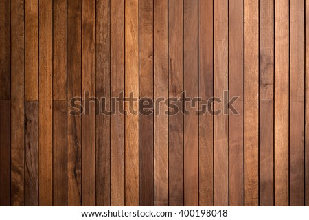timber wood brown oak panels used as background - stock photo