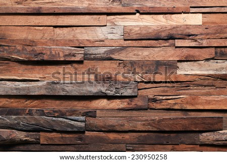 timber wood plank texture, retro background - stock photo