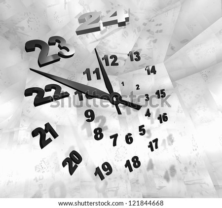 Time. - stock photo