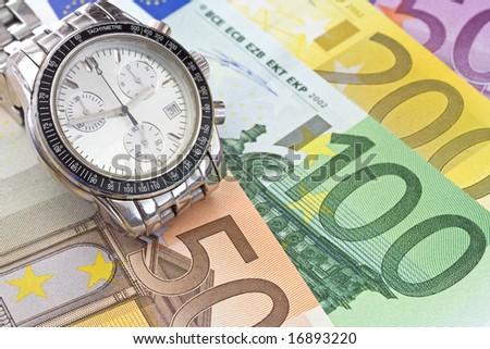 Time and business - stock photo