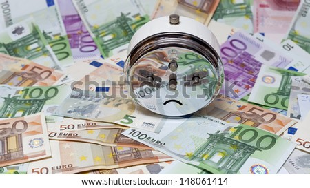 time and money concept   - stock photo