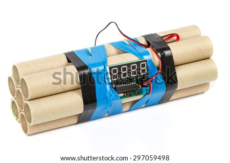 Time bomb - stock photo