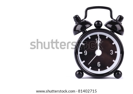time concept , alarm clock - stock photo