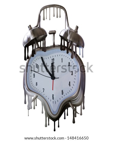 Time drops - stock photo