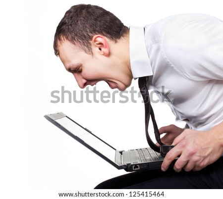 Time for stress.Chat with another - stock photo