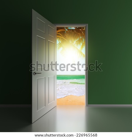 Time for Vacation - stock photo
