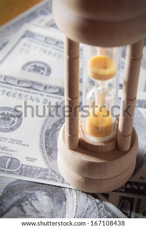 Time is money. - stock photo