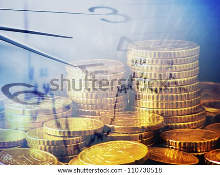 Time is money. Finance system concept. - stock photo