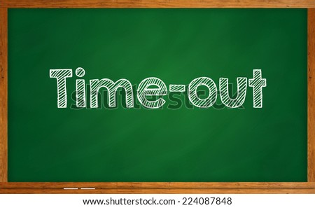 Time-out - stock photo