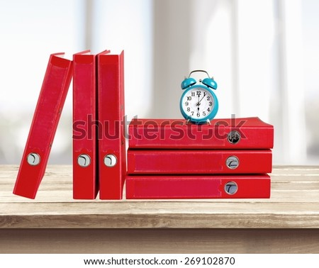 Time. Time to Work - stock photo