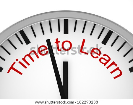 Time to Learn - stock photo