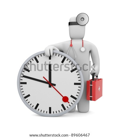 Time to medical services. Image contain clipping path - stock photo
