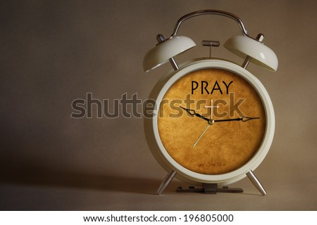 Time to Pray  - stock photo