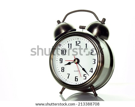 Time to wake up      - stock photo