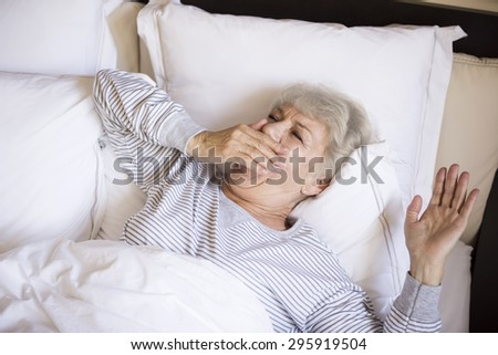 Time to waking up and start a day  - stock photo