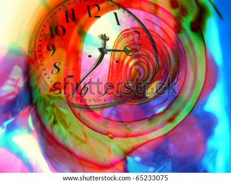 Time warped abstract - surreal imaginary