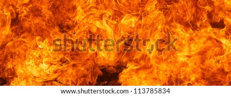 Timeline Cover (Ratio 851x315) - blaze fire flame texture background - stock photo