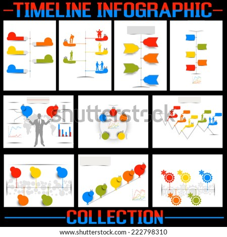 TIMELINE INFOGRAPHIC NEW STYLE COLLECTION
