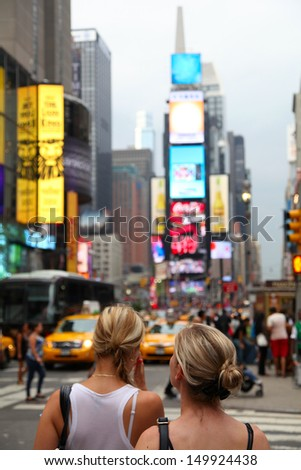 Times Square - stock photo