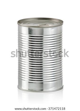 Tin can - stock photo