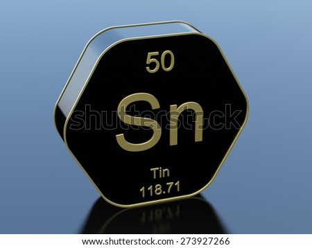 Tin periodic table symbol stock illustration 273927266 shutterstock tin periodic table symbol urtaz Image collections