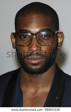 Tinnie Tempah arriving for the Brit Awards 2012 at the O2 arena, Greenwich, London. 21/02/2012 Picture by: Steve Vas / Featureflash