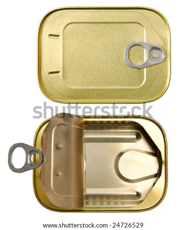 Tins - stock photo
