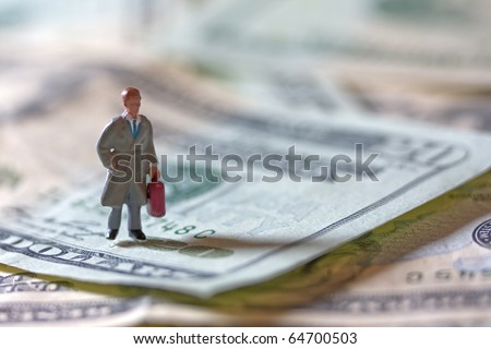 Tiny Business - stock photo