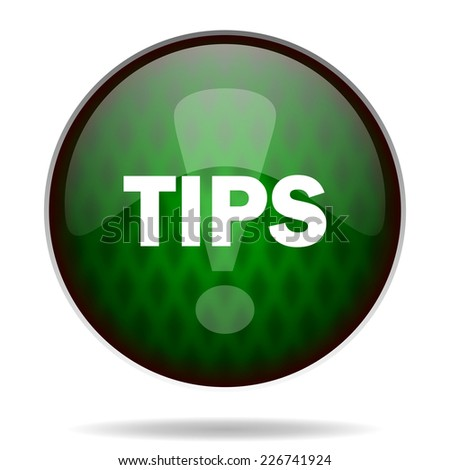tips green internet icon