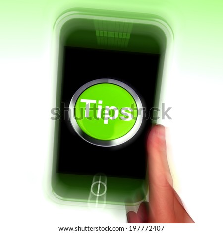 Tips Mobile Meaning Internet Hints And Suggestions