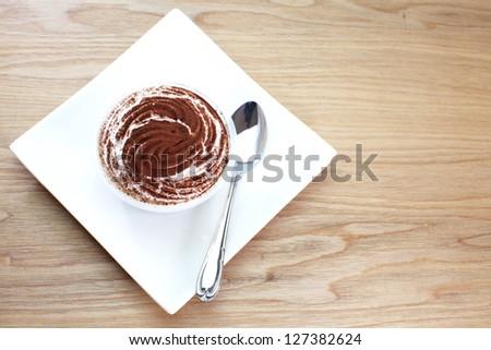 Tiramisu Dessert - stock photo